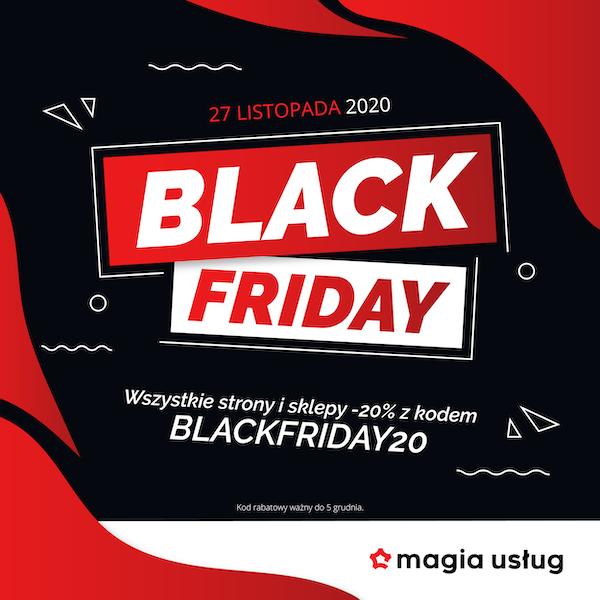 Black Friday 2020 - Magia Usług strony i sklepy Warszawa